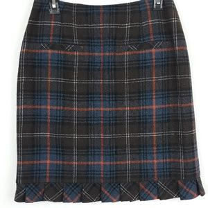 CAbi CHILLY CHANTILLY WOOL BLEND SKIRT